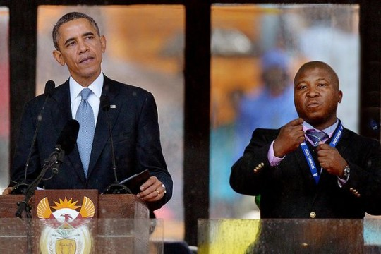Deaf News: UK Deaf man inspired by interpreted event with ...  |Barack Obama Sign Language