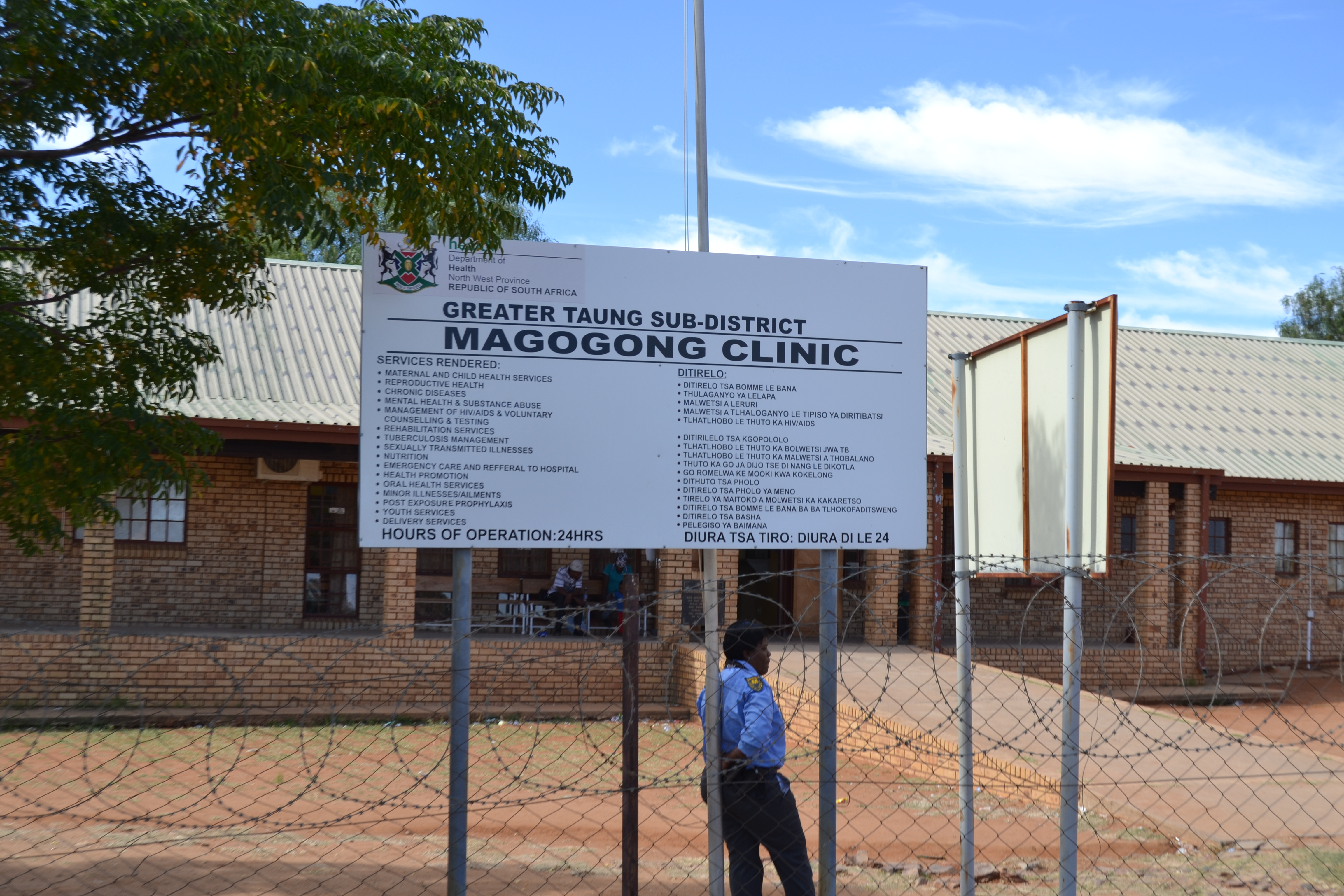 Thugs Terrorise Clinic Staff And Patients In Magogong Taungdailynews