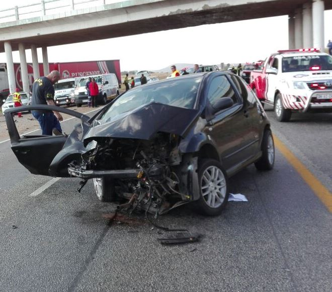 Three Injured In A Car Accident Along N12