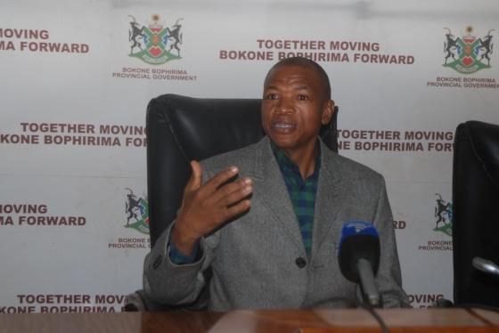 DSC_0196Premier Supra Mahumapelo at media briefing
