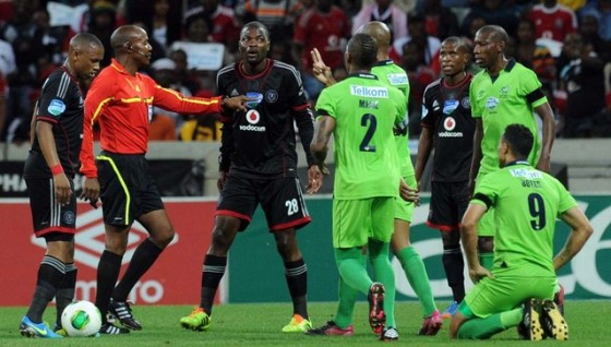 Football - 2013 Telkom Knockout - Final - Platinum Stars v Orlando Pirates - Mbombela Stadium