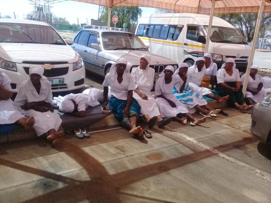 NICSA Members stranded 1