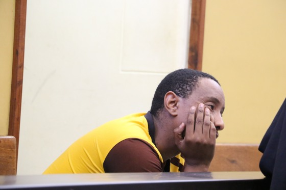 2L6A2874Oscar Mmutlwane appeared in Mmabatho Magistrate court for alledged fraud.