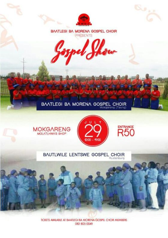Baatlegi Ba Morena Gospel Choir advert